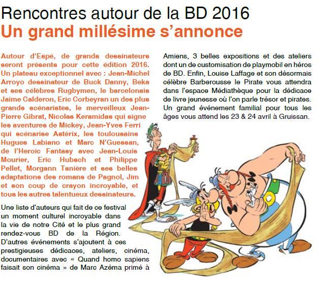 Festival de la bd 2016